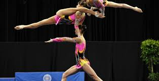 acrobatic gymnastics power flexibility and grace