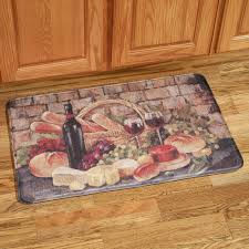 Foam Kitchen Floor Mats Tuscan Evening Memory Foam Kitchen Comfort Mat