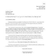 Notice Of Lease Termination Letter From Landlord To Tenant Termination Of Tenancy Letter From Landlord Sample Lease Termination