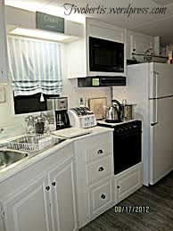 Camper Trailer Kitchen Designs Mobile Home Decorating Beach Style Makeover