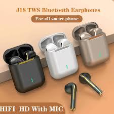 <b>Original New J18 Tws</b> Bluetooth Earphones Touch Pop up True ...
