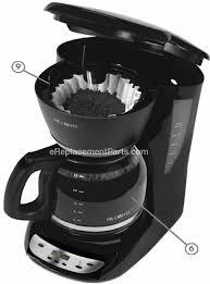mr coffee cjx21cp troubleshooting