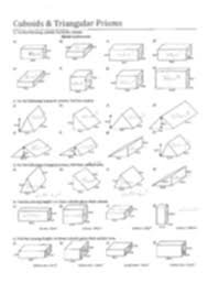 Volume Of Rectangular Prism Worksheet Kuta   Homeshealth.info