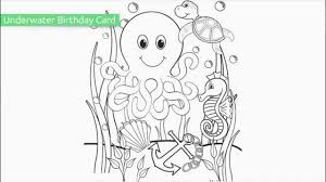 Endorsed Free Printable Ocean Coloring Pages Top 10 Youtube