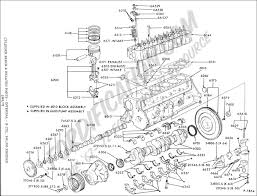 Diagram of ford truck engine technical drawings and schematics section e cylinder engines i