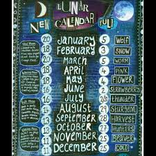 Wiccan Moon Chart