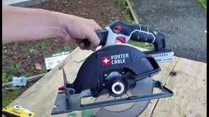 5 1 2 circular saw blade. porter-cable 20v 6 1/2 inch cordless circular saw review (pcc660b) - youtube 5 1 2 blade