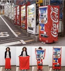 Japanese Vending Machine Dress Beauteous Square Watermelons And Vending Machine SkirtsOh Japan