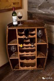 Merchant's Cellar Repurposed Wine Barrel Bar