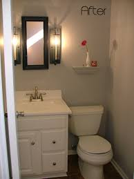 Half Bathroom Decorating Marvellous Half Bathroom Remodel With Small Half Bathroom