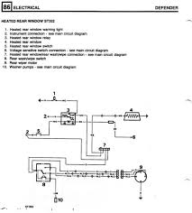 wiring the rear wash wipe defender forum lr4x4 the land wiringdiagram jpg
