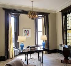 Dark Trim Light Walls Best Light Walls With Dark Painted Trim Home Interior Artnak