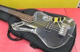 Very Rare! ESP Japan <b>XJ Crystal</b> Acrylic Active Heavey Bass ...