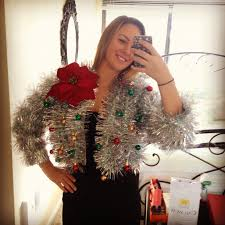 10 Best Ugly Christmas Sweater DIYs | Garlands, Ugliest christmas ...