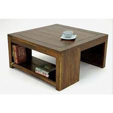 modern wooden square center table size