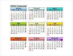 Professional Calendar Template Free Calendar Template 2016 Ezoracoon Info