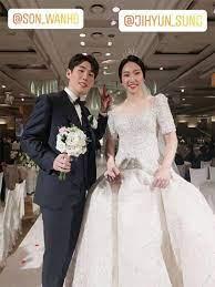 Felix djimin dan greysia polii (dok. Son Wan Ho Marries Girlfriend Sung Ji Hyun Badmintonplanet Com