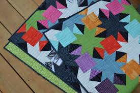 New Quilt to Make Now! Sparkle Pattern is Here - Color Girl Quilts ... & Sparkle quilt pattern, modern patchwork quilt with stars for charm squares Adamdwight.com