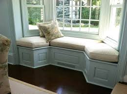 window seat furniture. Furniture In Front Of Bay Window Country Seat Cushion Placement