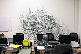 office graffiti wall. Thrillist \u2013 Graffiti Art New York Downtown Office Wall
