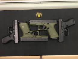 od green gen4 glock 19 g42 s and g43
