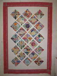29 best tile quilts images on Pinterest | Aprons, Bathrooms decor ... & Hand Applique Tile quilt Adamdwight.com