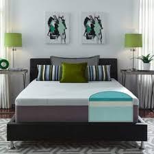 bedroom furniture. Slumber Solutions Choose Your Comfort 14-inch Queen-size Gel Memory Foam Mattress Bedroom Furniture