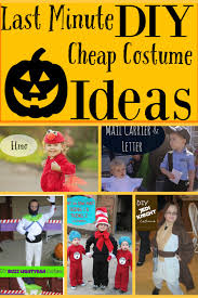 last minute diy costume ideas