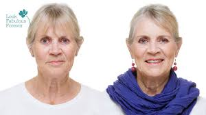 makeup for older women define your eyes and lips over 70