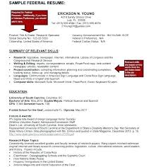 Example Of Federal Government Resumes Federal Job Resume Builder Example Sample Examples For Resumes Jobs