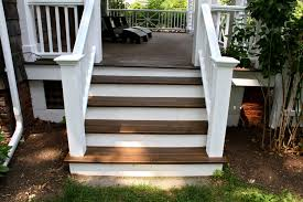 porch and deck paint brown white inspiration o long weekend project behr 10