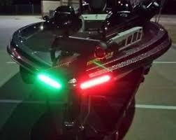 led boat deck lights. Boat Bow LED Lighting RED \u0026 Green Kit Led Deck Lights