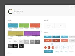 Style Template Style Guide Template By Michael Leigeber Dribbble Dribbble
