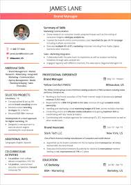 Creative Resume Template Free Templates You Can Download Quickly