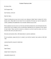 Thank You Letter To Customer 41 Free Thank You Letter Templates Doc Pdf Free Premium
