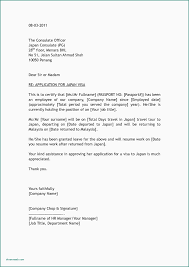 Letter Of Employment Samples Letter Of Employment Template For Visa Application New Covering