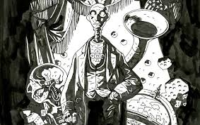 The Art Of Mike Mignola Hellboy And Other Curious Objects Society