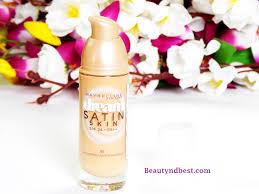maybelline dream satin skin liquid foundation review