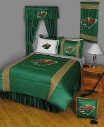 boys comforter sheets sham nhl hockey