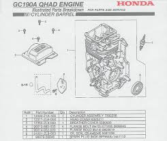honda gc190 parts diagram honda image wiring diagram honda gc190 engine parts on honda gc190 parts diagram
