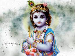 Baby Krishna Wallpapers - Wallpaper Cave