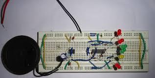 clock led pendulum tick tock sound circuit diagram led clock pendulum