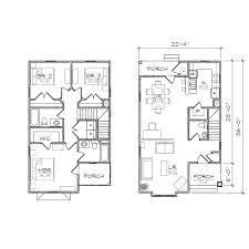small house plans for narrow lot