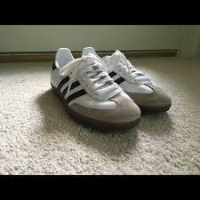 Adidas White Samba Og