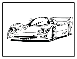 Race Car Coloring Pages Printable Blank Printable Race Car Coloring