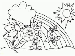 Spring Flowers Coloring Pages Flower Coloring Pages To Print