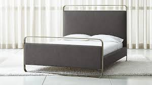metal upholstered bed. Exellent Metal To Metal Upholstered Bed I