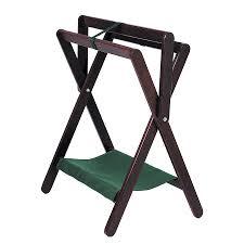 wood folding saddle rack