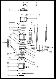 shop vac acirc reg older models parts list backpack series wet dry vac