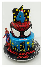 80 Birthday Cake With Spiderman Superhero Design Cake 3kg